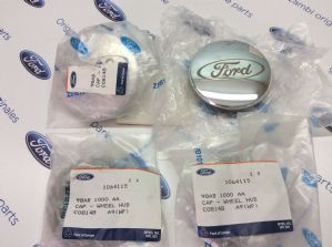 Ford Puma New Genuine Ford alloy wheel centre caps